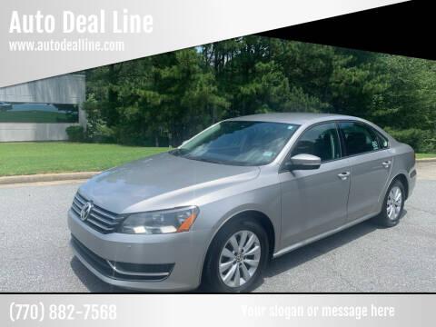 2012 Volkswagen Passat for sale at Auto Deal Line in Alpharetta GA