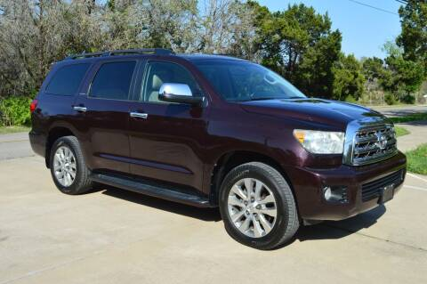 2014 Toyota Sequoia for sale at Coleman Auto Group in Austin TX