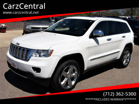 2011 Jeep Grand Cherokee for sale at CarzCentral in Estherville IA