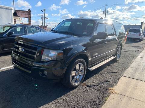 2007 Ford Expedition EL for sale at Frank's Garage in Linden NJ