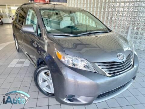 2017 Toyota Sienna for sale at iAuto in Cincinnati OH