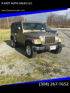 2005 Jeep Wrangler for sale at 9 EAST AUTO SALES LLC in Martinsburg WV