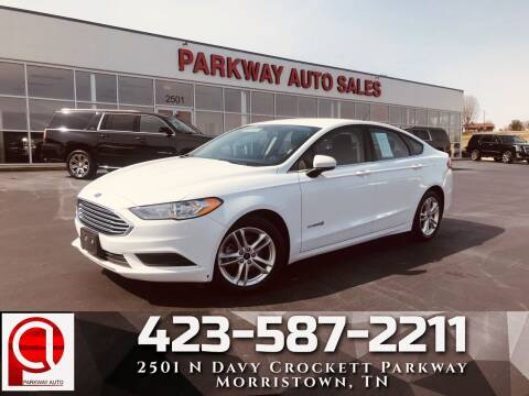 2018 Ford Fusion Hybrid for sale at Parkway Auto Sales, Inc. in Morristown TN