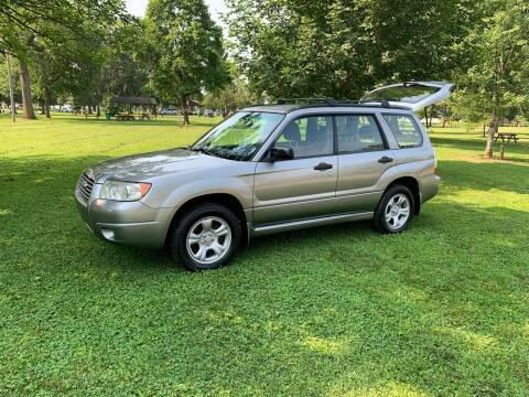 2007 Subaru Forester for sale at Clarks Auto Sales in Connersville IN