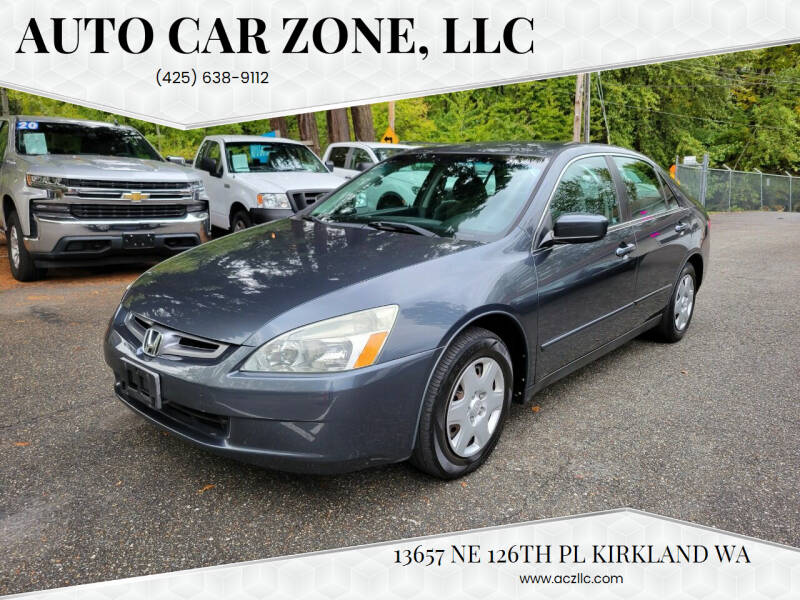 2005 Honda Accord for sale at Auto Car Zone, LLC in Kirkland WA