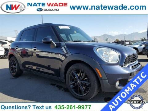 2014 MINI Countryman for sale at NATE WADE SUBARU in Salt Lake City UT