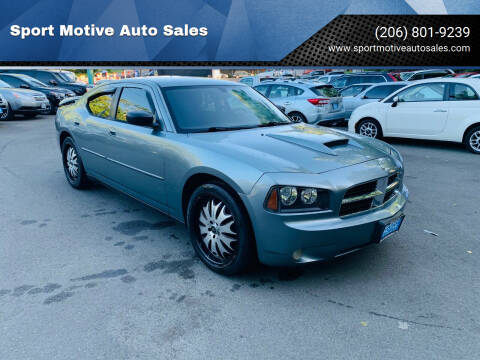 2007 Dodge Charger for sale at Sport Motive Auto Sales in Seattle WA