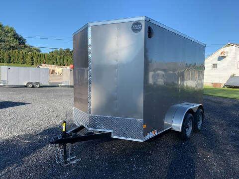 2022 Wells Cargo 7x12 Fast Trac Deluxe Enclosed