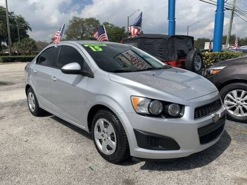 2015 Chevrolet Sonic for sale at AUTO PROVIDER in Fort Lauderdale FL
