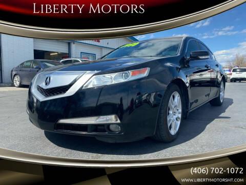 2010 Acura TL for sale at Liberty Motors in Billings MT