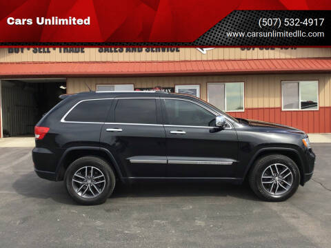 2013 Jeep Grand Cherokee for sale at Cars Unlimited in Marshall MN