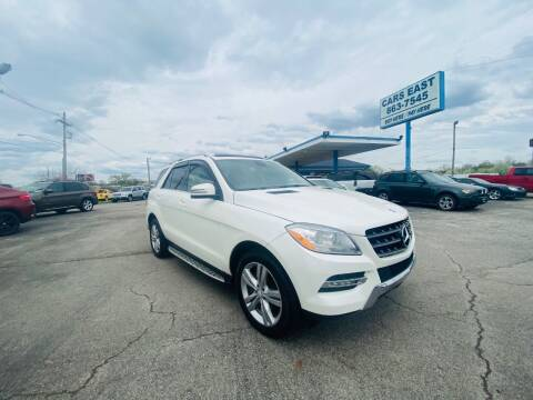 2013 Mercedes-Benz M-Class for sale at Cars East in Columbus OH
