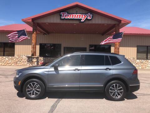 2020 Volkswagen Tiguan for sale at Tommy's Car Lot in Chadron NE