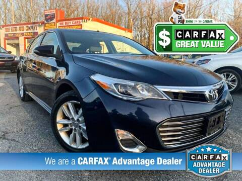 2014 Toyota Avalon for sale at High Rated Auto Company in Abingdon MD