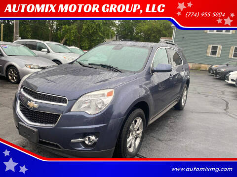 2014 Chevrolet Equinox for sale at AUTOMIX MOTOR GROUP, LLC in Swansea MA
