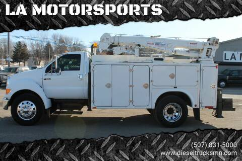 2005 Ford F-650 Super Duty for sale at LA MOTORSPORTS in Windom MN
