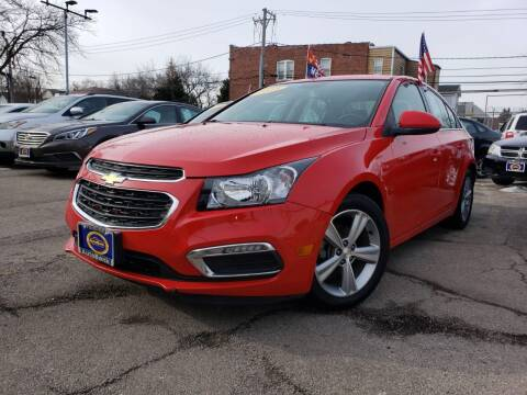 2015 Chevrolet Cruze for sale at AutoBank in Chicago IL