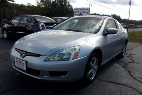 2005 Honda Accord for sale at Dave Franek Automotive in Wantage NJ
