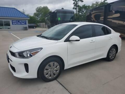 2020 Kia Rio for sale at Kell Auto Sales, Inc - Grace Street in Wichita Falls TX