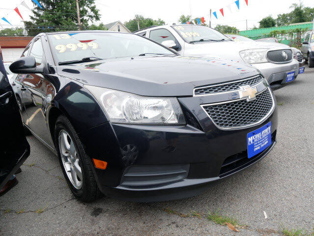 2013 Chevrolet Cruze for sale at MICHAEL ANTHONY AUTO SALES in Plainfield NJ