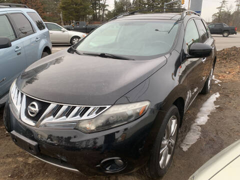 2010 Nissan Murano for sale at Official Auto Sales in Plaistow NH