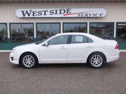 2012 Ford Fusion for sale at West Side Service in Auburndale WI