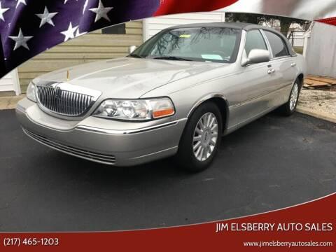 2005 Lincoln Town Car for sale at Jim Elsberry Auto Sales in Paris IL