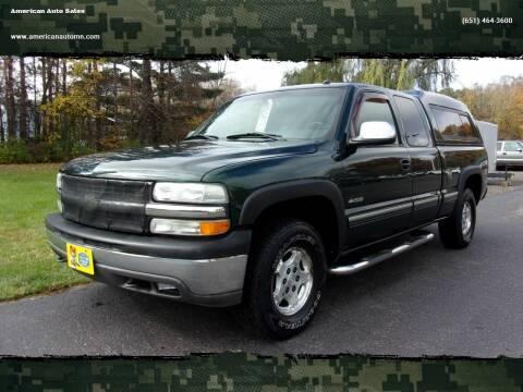 2002 Chevrolet Silverado 1500 for sale at American Auto Sales in Forest Lake MN