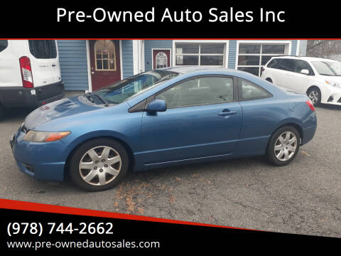 2007 Honda Civic for sale at Pre-Owned Auto Sales Inc in Salem MA
