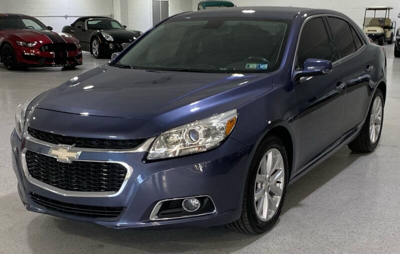 2015 Chevrolet Malibu for sale at Hamilton Automotive in North Huntingdon PA