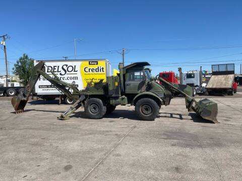 1988 Frightliner Unimog Loader backhoe for sale at Ray and Bob's Truck & Trailer Sales LLC in Phoenix AZ