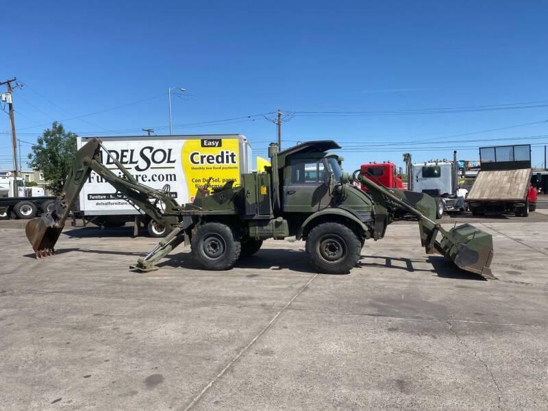 1988 Frightliner Unimog Loader backhoe for sale at Ray and Bob's Truck & Trailer Sales LLC in Phoenix AZ