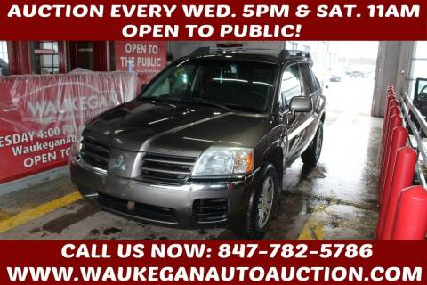 2004 Mitsubishi Endeavor for sale at Waukegan Auto Auction in Waukegan IL