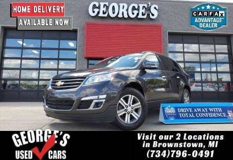 2017 Chevrolet Traverse for sale at George's Used Cars - Telegraph in Brownstown MI