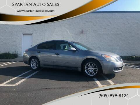 2008 Nissan Altima for sale at Spartan Auto Sales in Upland CA