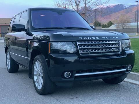 2012 Land Rover Range Rover for sale at A.I. Monroe Auto Sales in Bountiful UT