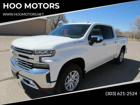 2020 Chevrolet Silverado 1500 for sale at HOO MOTORS in Kiowa CO