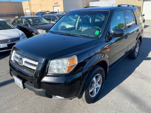 2007 Honda Pilot for sale at 101 Auto Sales in Sacramento CA