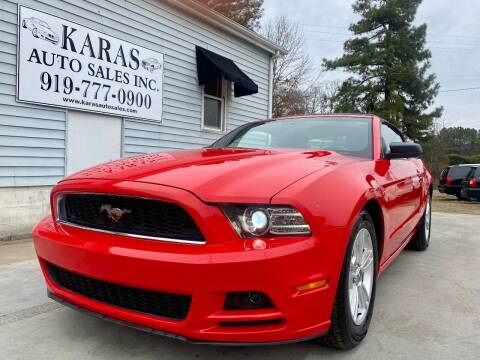 2014 Ford Mustang for sale at Karas Auto Sales Inc. in Sanford NC