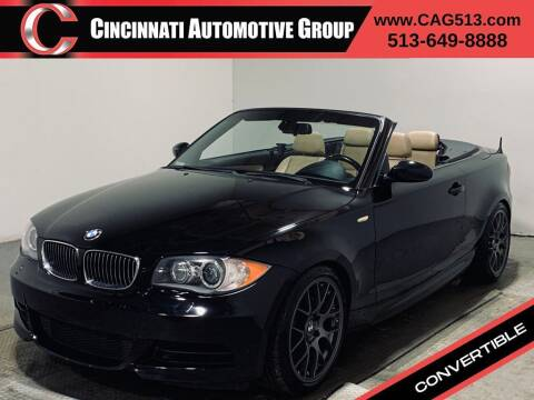 2008 BMW 1 Series for sale at Cincinnati Automotive Group in Lebanon OH