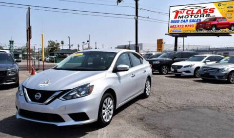 2018 Nissan Sentra for sale at 1st Class Motors in Phoenix AZ