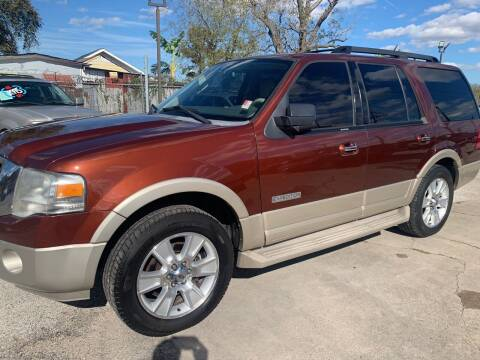 2008 Ford Expedition for sale at FAIR DEAL AUTO SALES INC in Houston TX