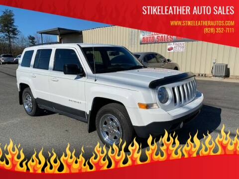 2017 Jeep Patriot for sale at Stikeleather Auto Sales in Taylorsville NC