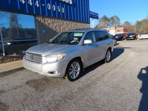 2008 Toyota Highlander Hybrid for sale at Southern Auto Solutions - 1st Choice Autos in Marietta GA