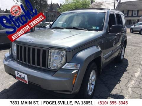 2012 Jeep Liberty for sale at Strohl Automotive Services in Fogelsville PA