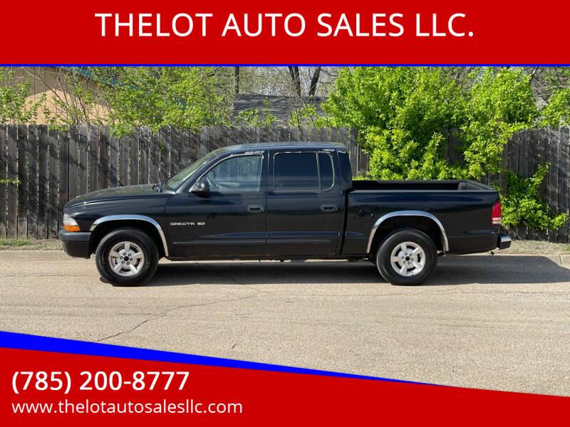2002 Dodge Dakota for sale at THELOT AUTO SALES LLC. in Lawrence KS