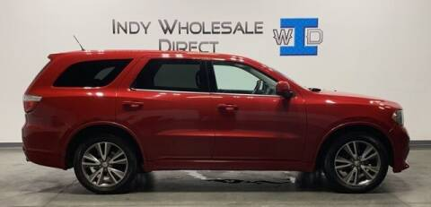 2013 Dodge Durango for sale at Indy Wholesale Direct in Carmel IN