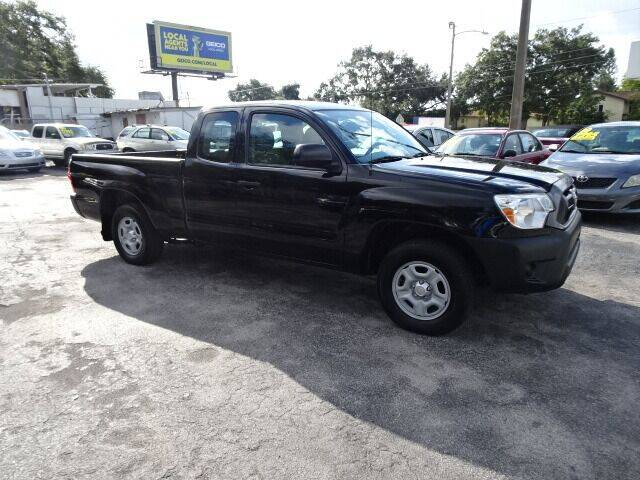 2015 Toyota Tacoma for sale at DONNY MILLS AUTO SALES in Largo FL