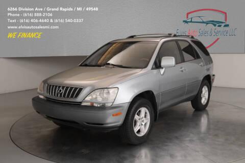 2001 Lexus RX 300 for sale at Elvis Auto Sales LLC in Grand Rapids MI