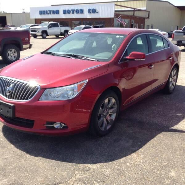 2013 Buick LaCrosse for sale at Melton Chevrolet in Belleville KS